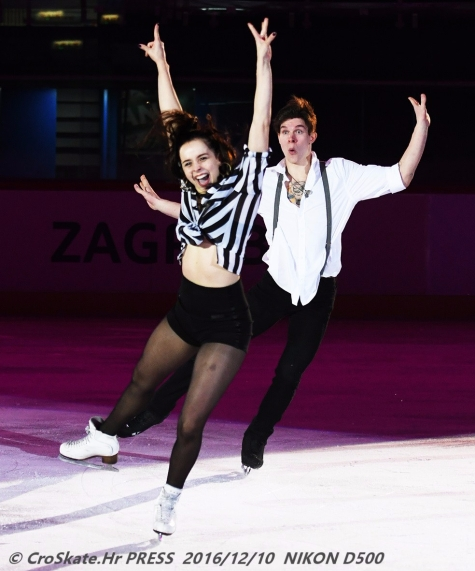 Betina Popova and Sergei Mozgov, RUS